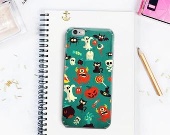 Spooky Tunes Funny Cute Halloween iPhone 5/5s/SE iPhone 6Plus/6sPlus iPhone 6/6s iPhone 7 iPhone 7 Plus Case