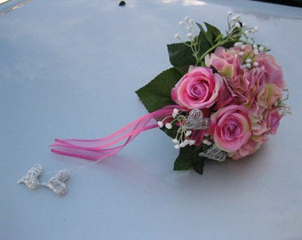 Noble. Bridal bouquet wedding roses Registrar's Office