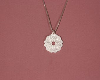 Yoga necklace yoga gift buddist necklace yoga jewelry