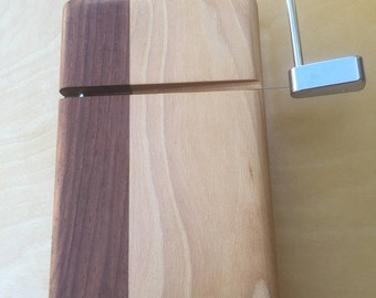 Handcrafted of Walnut and Cherry
