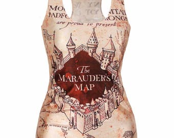T shirt t-shirt Harry Potter Marauder's map