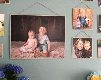 Custom Photo Canvas Gallery Wall