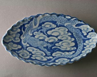 Japanese porcelain Hirado plates