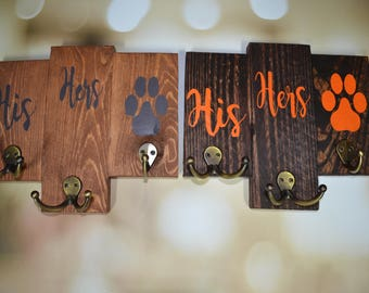 Reclaimed Wood Custom Key Hangers