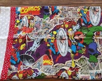 Marvel Superheroes Print - Children's Pillow Case