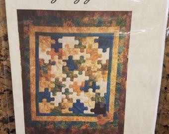 Dan's Incomplete Puzzle Quilt pattern