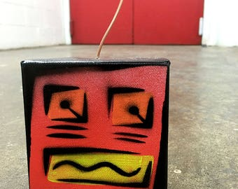 Tiny Bot - Red and Yellow