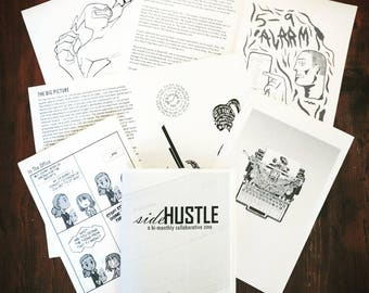 2nd issue sideHUSTLE zine: 9 to 5