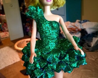 Lady Gaga Origami Dress Doll, as soon on her at The Monster Ball Tour.