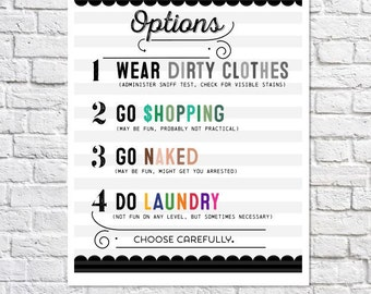 Laundry Room Art Funny Laundry Room Decor Laundry Sign Laundry Room Decoration Laundry Art Laundry Print Laundry Quote Cute Wall Artwork