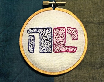 Non-Compliant Woman - Bitch Planet - NC - Personal Power Symbol - Feminist Art - Embroidered Hoop Art