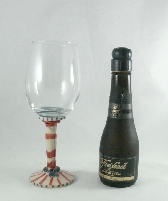 Quirky wine glass wedding wine glass bridal wine glass wine - Funky champagne flutes ...
