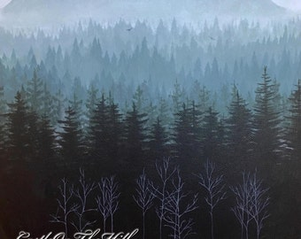 Pacific Northwest landscape - print