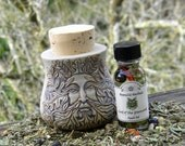 Lord of the Greenwood Spell Oil - Honoring the Greenman, Earth Magick, Growth, Abundance, Grounding, Fertility, Pagan Supplies, Wicca