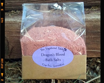 dragon's blood bath salts (really big)