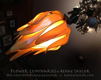 Yellow Standard DAISY Luminaire (Lamp) By Renae Taylor