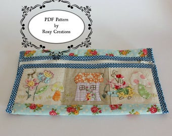 PDF bag sewing PATTERN Summertime pouch