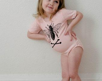 SALE! Kids Pink Bee Leotard
