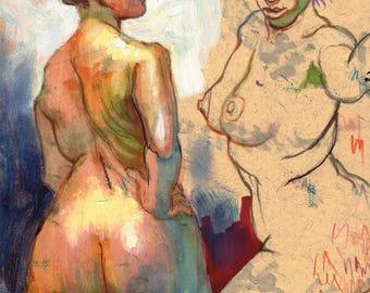 Nude Sketch 1