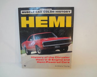 Hemi Muscle Car Color History Vintage Trade Paper Edition 1991 HIstory Of The Chrysler Hemi V 8 Engine And Hemi Powered Cars