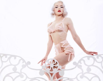 New Look High Waist Knickers with Lace Up Sides by Mosh + Dottie's Delights
