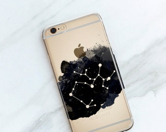 Sagittarius Zodiac Sign iPhone Case, Constellations iPhone 7, 6S, 6, Plus, Personalized Birthday Gift, Astrology, Astrological Signs