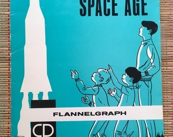 God and the Space Age:  Sunday School Meets the Apocalypse, Flannel Board Style