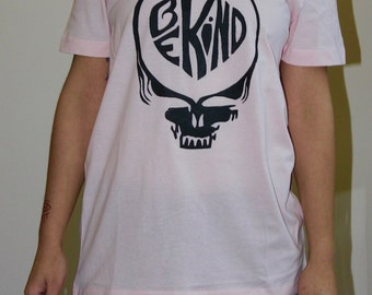 Pink Small Be Kind Stealie Tee
