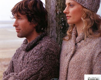 Plaid Collection - Rowan Knitting Pattern Book - 16 Designs by Kim Hargreaves for Men & Women