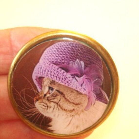 Cat Jewelry Brooch KL Design