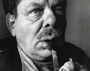 vintage portrait art print irving penn photograph photo black white image picture david smith sculptor josef albers jasper johns artist 60s