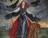 The Morrigan Limited Edition Print