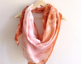 Arizona Sunset Hand Dyed Beach Wrap