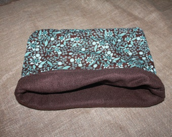 Large Flower pouch for small pets- Guinea Pigs, Rats, Hedgehogs, Chinchillas, Rodents...