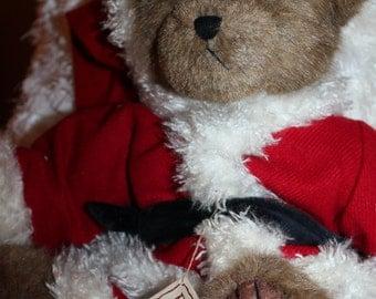 Boyds Bears- 16 INCH -Retired-  Mr. Kringle-Best Dressed- Collectible Plush Stuffed Animal/ Bear- Christmas Bear
