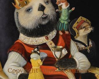 King Otto Bristleton III - 8x10 Print