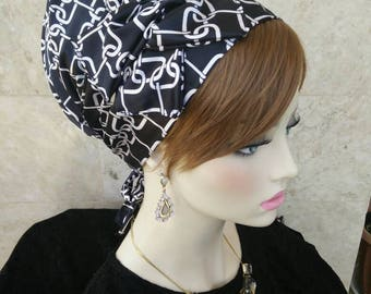 jewish headcovering,no need to wrap just tie in the back,apron tichel,israeli tichel,hair cover,hair scarf, Jewish Head covering