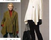 Vogue V8693 Sewing Pattern by Designer Marcy Tilton for Misses' Jacket - Uncut - Size 8, 10, 12, 14