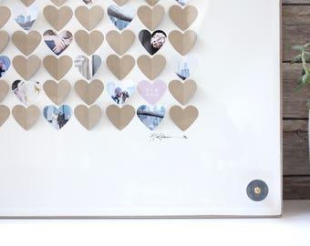 Guestbook Hearts Guest book Alternative Guest Book Hearts Wedding Sign In Wedding Guest book Hearts Wedding Guestbook Heart Guestbook frame