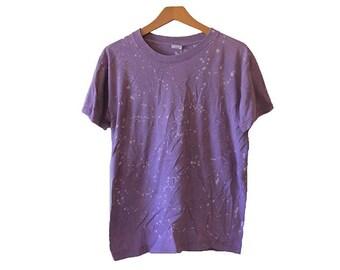 Splatter Bleached Mauve T-shirt Size