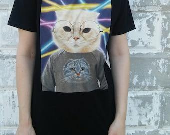 Cat Shirt Of A Cat Wearing A Cat Shirt