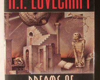 H. P. Lovecraft - Dreams of Terror & Death - Dream Cycle of H P Lovecraft - 25 Stories of Horror, Nightmares  and Surreal Terror