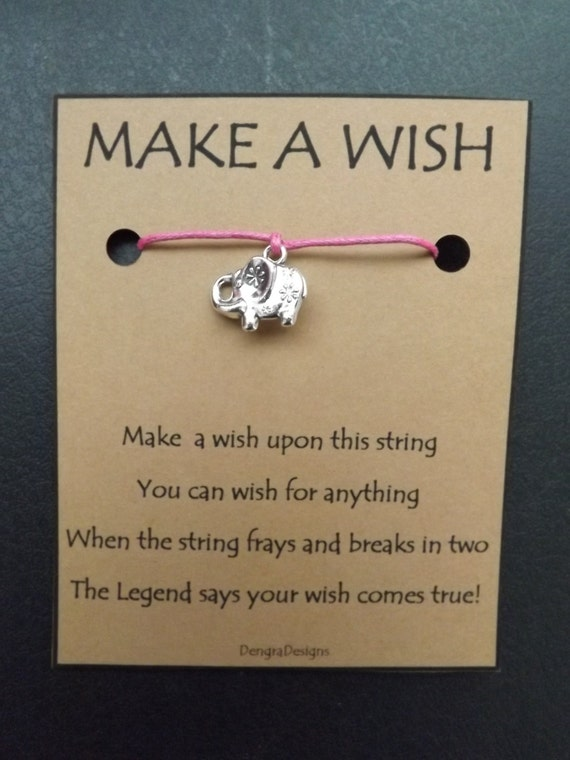Flowery Elephant Wish String