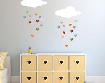 Raining Hearts - Cloud and Heart Stencil Set (SKU: 2004-stl)