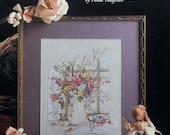 50%OFF Paula Vaughan Vaughn VICTORIAN BOUQUET By Leisure Arts - Counted Cross Stitch Pattern Chart