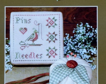 Counted Cross Stitch Pattern | ANNIE'S PINBOX | Plum Pudding | NeedleArt | Barbara Cooley