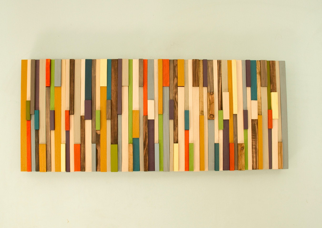 Mid century wall art reclaimed wood art sculpture sale Reclaimed wood wall art for sale