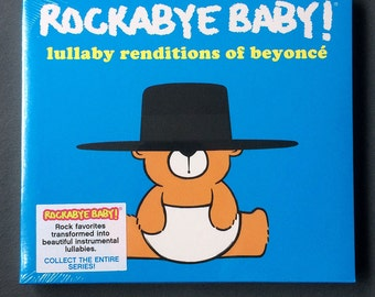 Beyonce Baby Lullaby Music CD. Instrumental lullabies of Beyonces hits for the nursery. Funny baby gift.