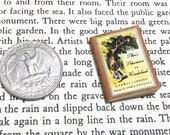 Miniature Book / Alice in Wonderland by Lewis Carroll / 1 in tall Vintage Book / real blank pages / Mini literary classics / Book club gift