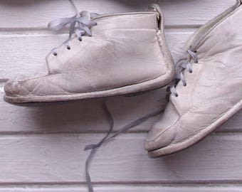 old pair of baby boots